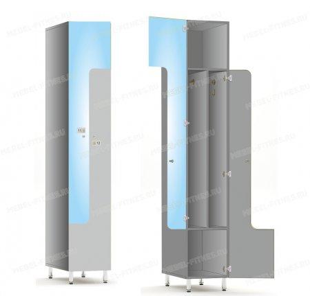Двухсекционный шкаф-hf1-2
