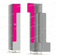 Двухсекционный шкаф-hf1-3