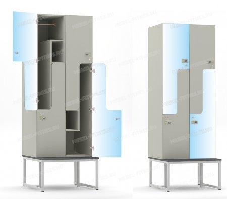 Шкаф со скамьей hf-14-2