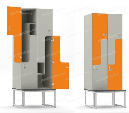 Шкаф со скамьей hf-14-1