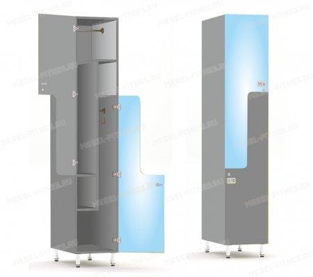 Двухсекционный шкаф-hf2-2