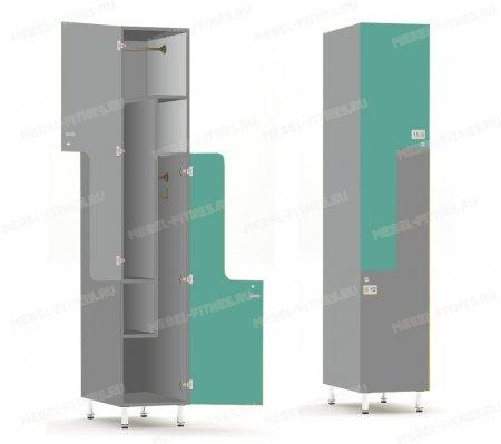 Двухсекционный шкаф-hf2-3