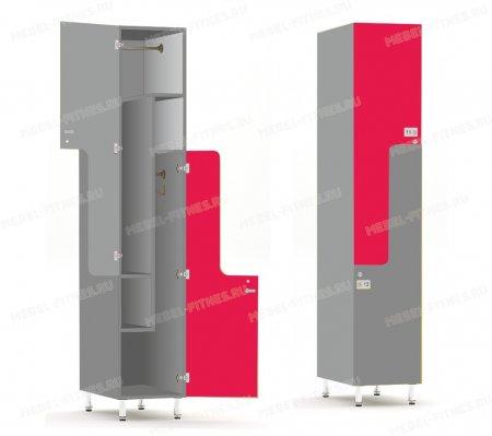 Двухсекционный шкаф-hf2-4
