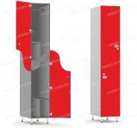 Двухсекционный шкаф-hf5-1