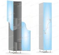 Двухсекционный шкаф-hf5-2