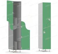 Двухсекционный шкаф-hf5-4