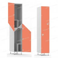 Двухсекционный шкаф-hf6-1