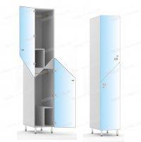 Двухсекционный шкаф-hf6-2