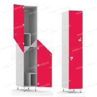 Двухсекционный шкаф-hf6-3