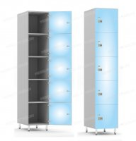 Многосекционный шкаф-hf9-2