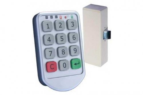 Кодовый замок для шкафчиков MFZ 009 мет. корпус-hz-12